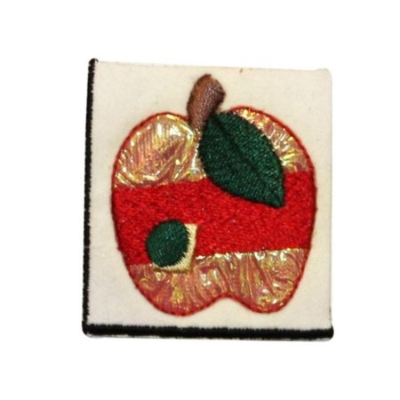 Fruit Craft (ID 1229A Craft Apple Patch Tree Fruit Symbol Emblem Embroidered Iron On)