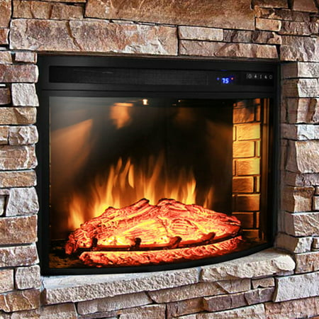 Buy AKDY Curved Electric Fireplace Insert at Walmart.com