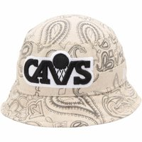 Cleveland Cavaliers New Era Paisley Bucket Hat - Natural