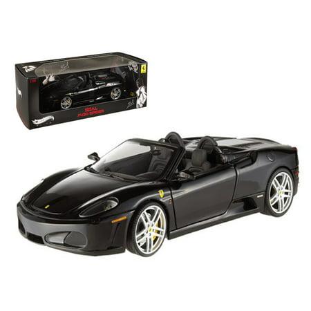 Ferrari F430 Spider Black Elite Edition Owned By Seal 118 Diecast Model Car By Hotwheels