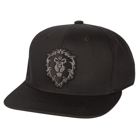 World of Warcraft Alliance Blackout Snapback Hat