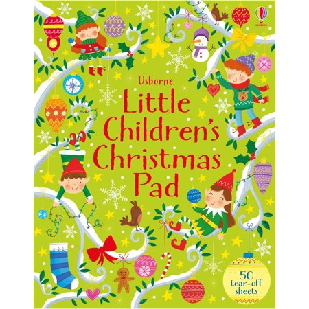 LITTLE CHILDRENS CHRISTMAS ACTIVITY PAD