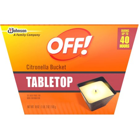 Citronella Bucket - OFF! Citronella Bucket Candle 18 oz (Pack of 2)