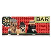 Liora Manne Frontporch 1809/37 Bar Patrol Port Indoor / Outdoor Door Mat