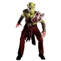 World Of Warcraft Adult ORC Set, Green, Standard