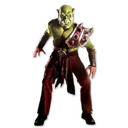 World Of Warcraft Adult ORC Set, Green, Standard