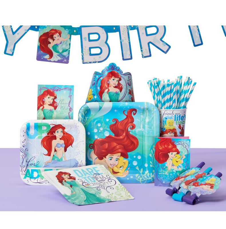The Little Mermaid Party Supplies Walmartcom