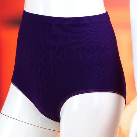 Yosoo Culottes en coton, culottes de taille haute formateur taille 20,47-33,46 pouces Sexy sous-vêtements femmes Body Shaper Briefs minceur ceinture - image 3 de 4