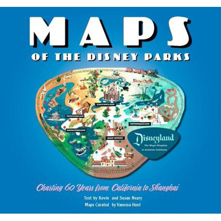 Maps of the Disney Parks : Charting 60 Years from California to Shanghai (Disney Halloween 2017 Map)