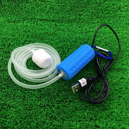 Portable Mini USB Aquarium Fish Tank Oxygen Air Pump Mute Energy Saving Supplies Accessories -