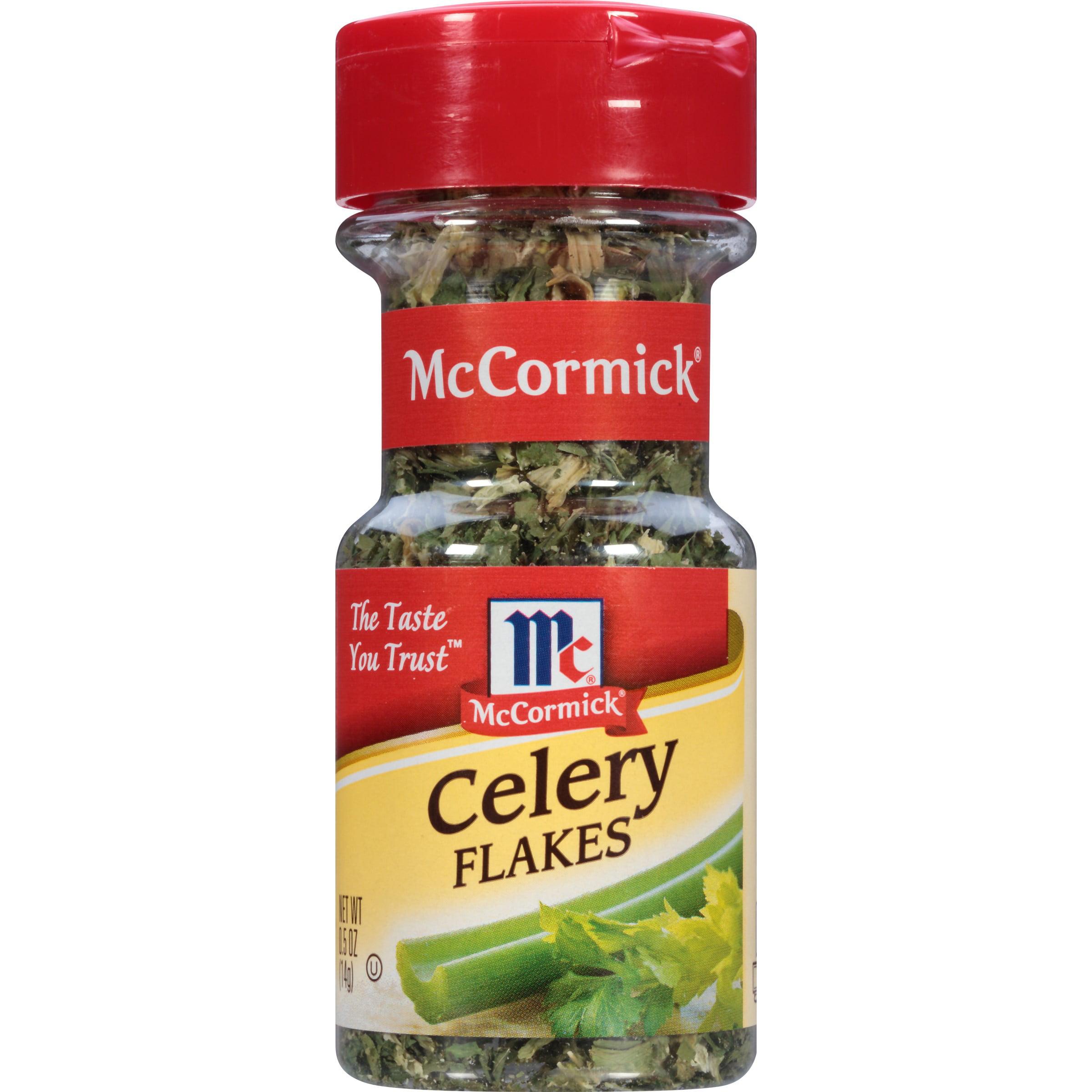 (2 Pack) McCormick Celery Flakes, 0.5 Oz