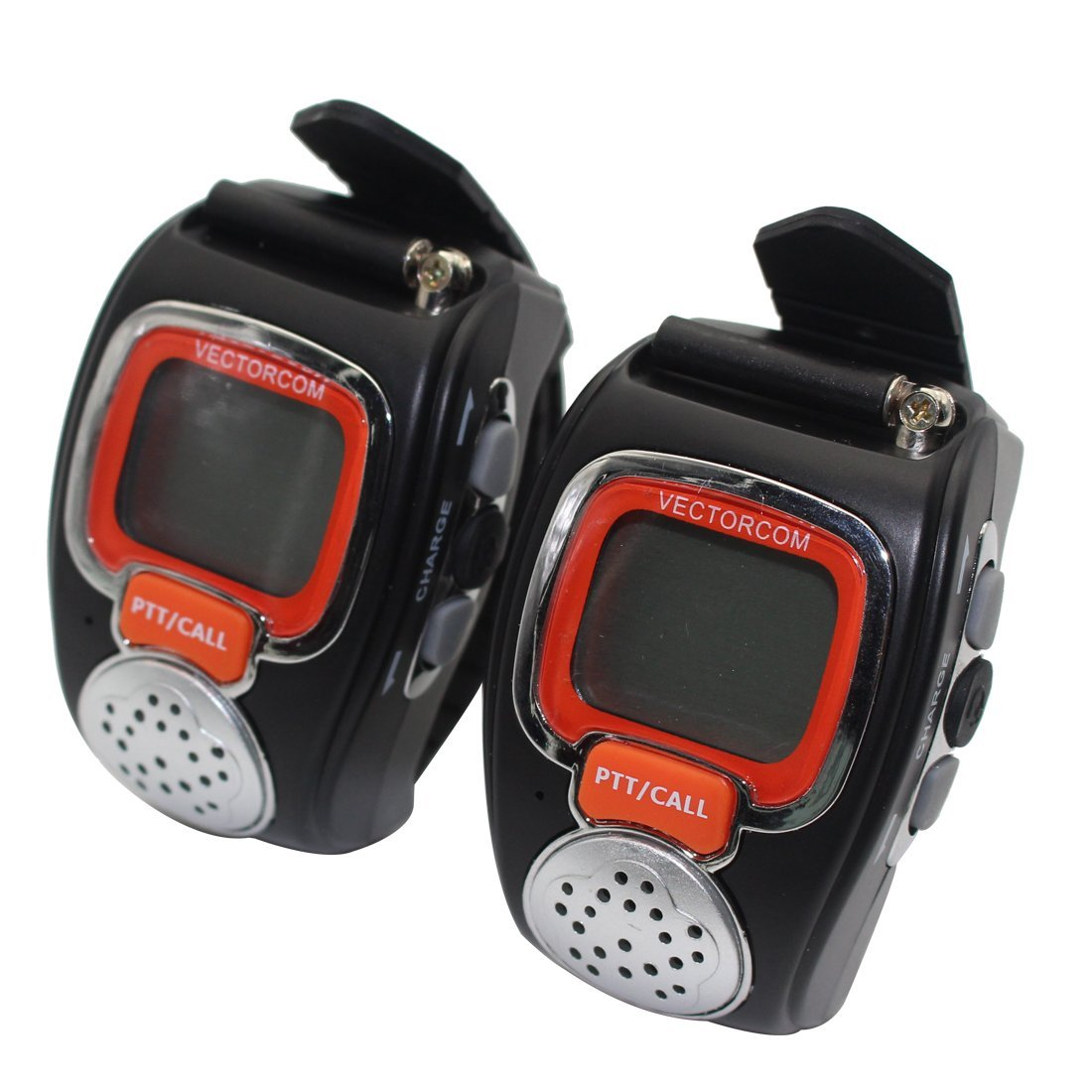 VECTORCOM Portable Digital Wrist Watch Walkie Talkie Two_...