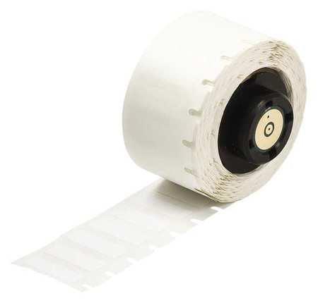 """BRADY PTL-29-423 1-1//2/"""" x 1//2/"""" White Printer Label Polyester"""