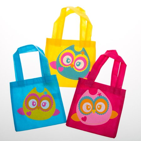 Mini Owl Tote Bags - Owl Tote