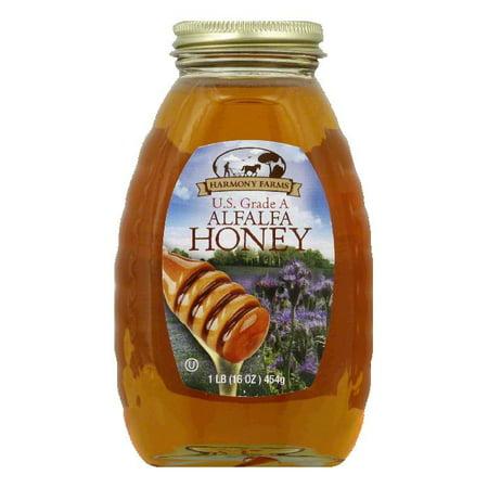 - Harmony Farms Alfalfa Honey, 16 OZ (Pack of 6)