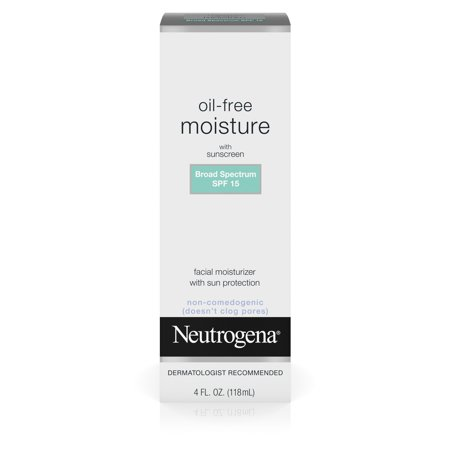 Neutrogena Oil Free Day Lotion Face Moisturizer   4Oz  Spf 15