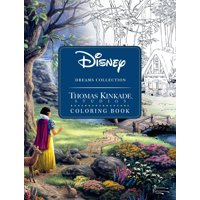 Disney Dreams Collection Thomas Kinkade Studios Coloring Book (Paperback)