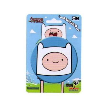 Adventure Time Finn Face 3 Inch Button