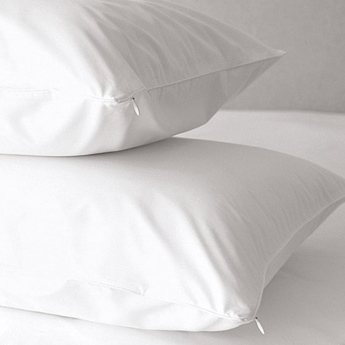 Home Fashion Designs Premium 500 Thread Count Zippered Pillow Protector (Set of 2) by Home Fashion Designs