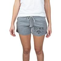 Women's Gray Iowa Hawkeyes Pike Knit Shorts