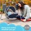 Fisher-Price On-The-Go Swing - Citron Wedge, Travel Baby Swing