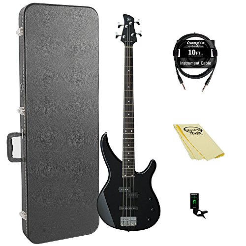 Yamaha TRBX174 BL 4-String Bass Guitar Pack