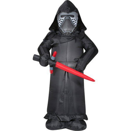 gemmy airblown inflatable 5 x 3 star wars kylo ren halloween decoration - Www Gemmy Com Halloween