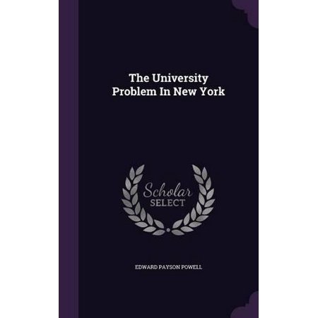 The University Problem In New York