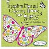 Christian Art Gifts 095392 Inspirational Coloring Book for Girls