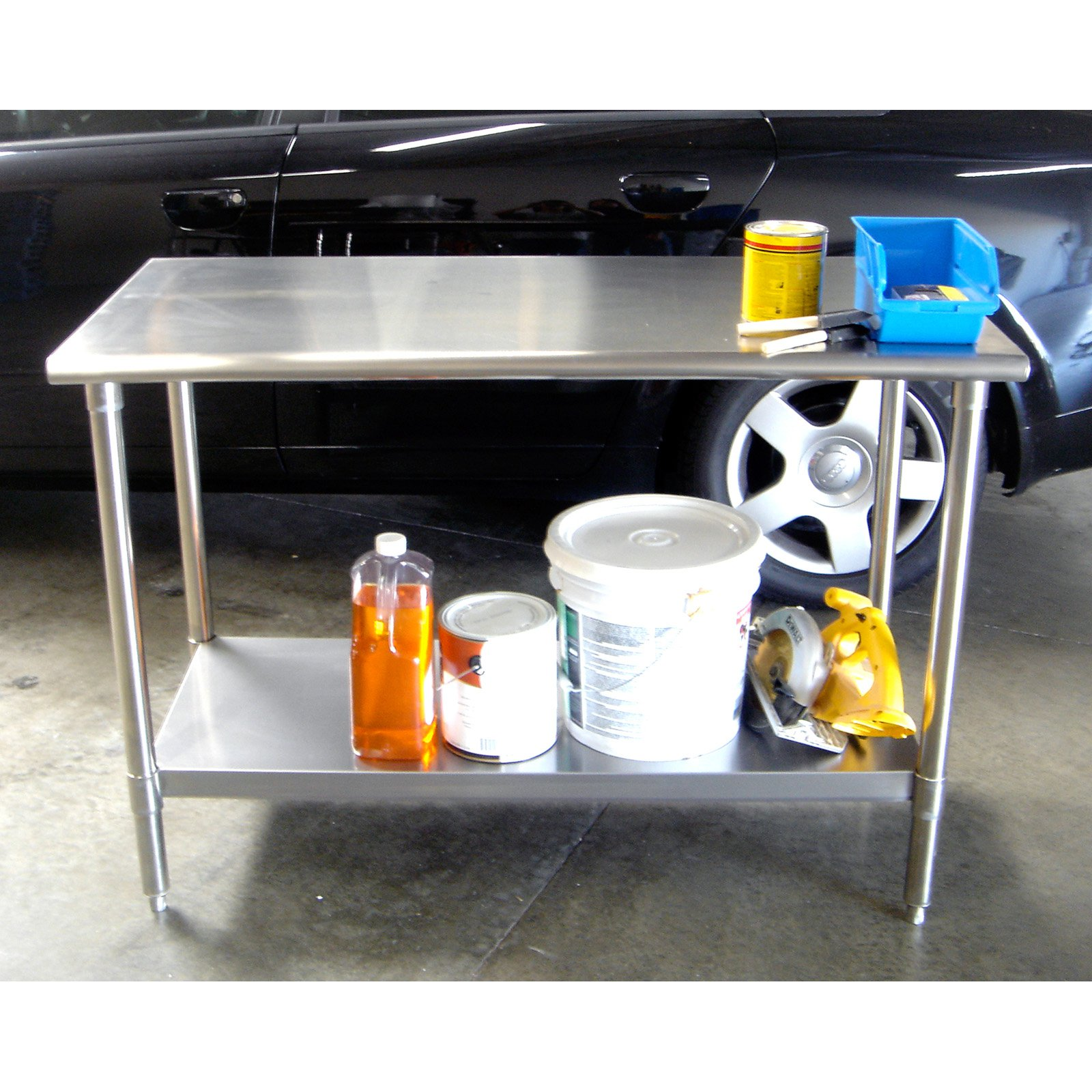 Trinity EcoStorage Table, Stainless Steel