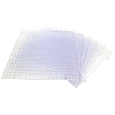 Creator's Waffle Grid 6-Pack Clear Modular Surface For Glass Cutting, Small  Parts, Debris, or Liquid Containment  Use At Home, Office, And Shop  Works