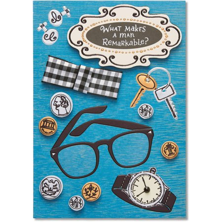 American Greetings Remarkable Man Birthday Card For Him With Foil