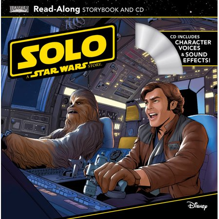 Solo: A Star Wars Story Read-Along Storybook and CD (Paperback) (Star Wars Read Along Cassette)