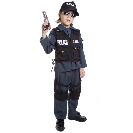 Toddler SWAT Officer Costume (Officer And A Gentleman Halloween Costume)