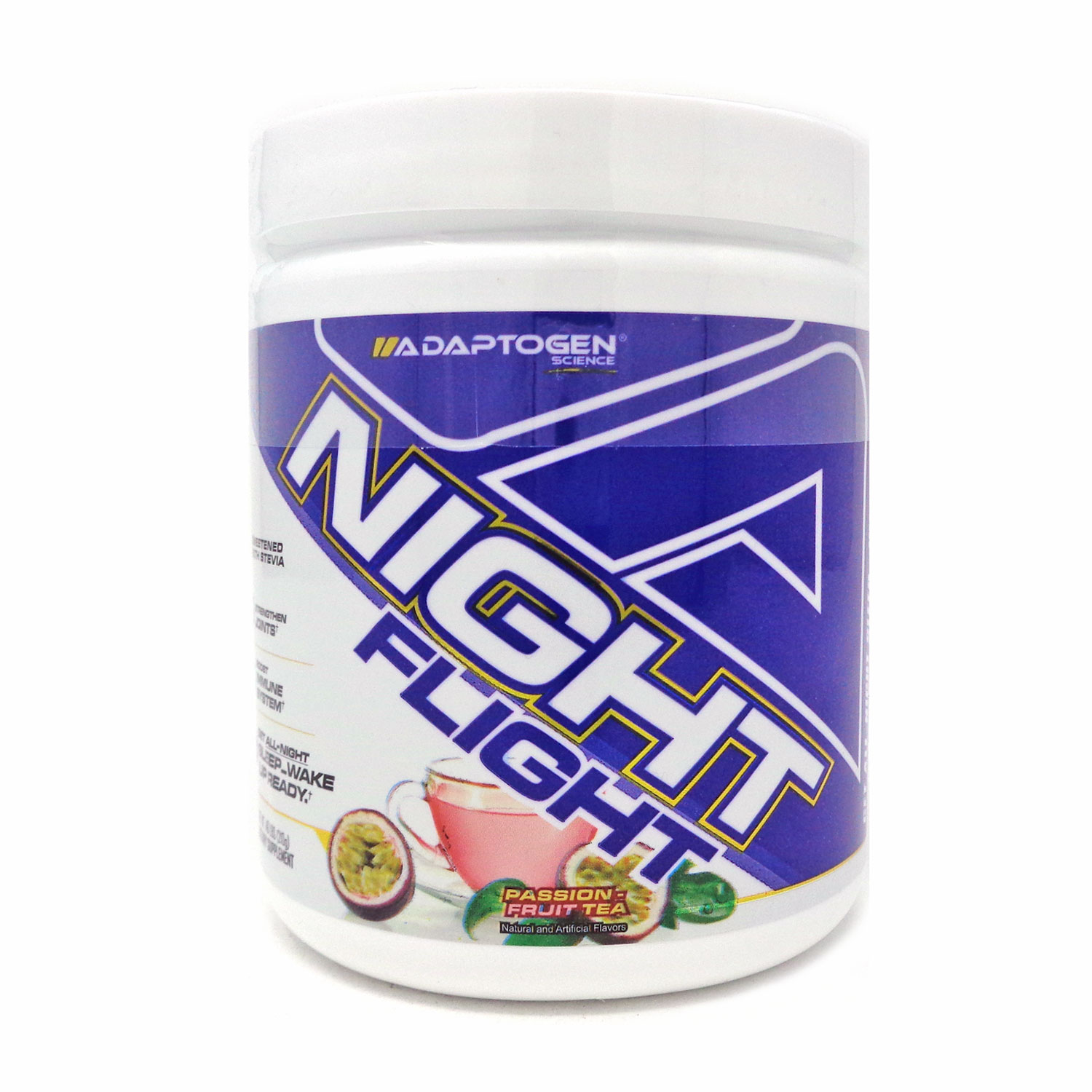 Adaptogen Night Flight Passion Fruit Tea - 30 Servings