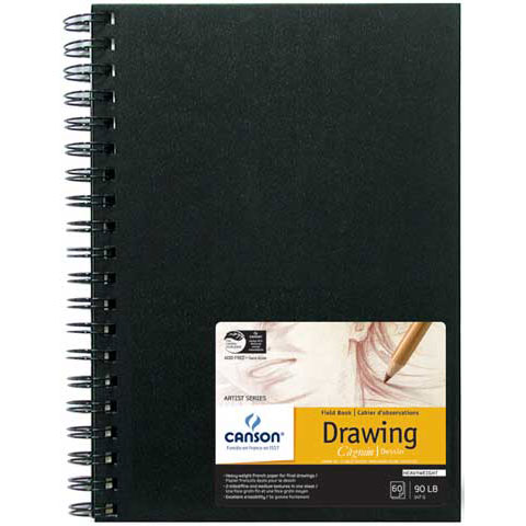 Canson Field Drawing Book, 9in x 12in, 60/Sheets