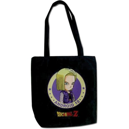 Tote Bag - Dragon Ball Z - New SD Android 18 Toy Licensed (Dragon Ball Z Cell Absorbs Android 18)