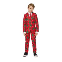 Red Suit Child Christmas Costume