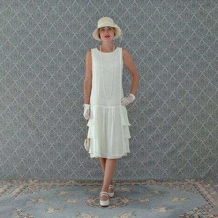 1920s Plus Size Flapper Dress (Plus Size Fashion Women Vintage Sleeveless Flapper)