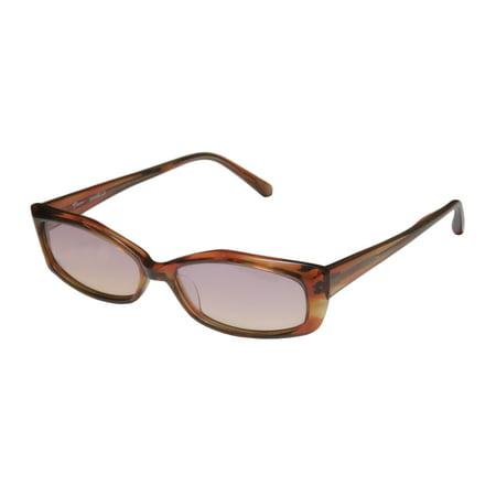 new thalia daniella womens/ladies designer full-rim gradient amber frame gradient pink / orange lenses 51-14-140 sunglasses/eyewear