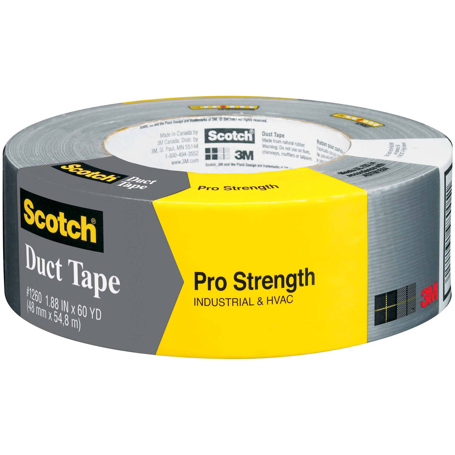 3M 1260-A 60 Yards Pro Strength Duct Tape