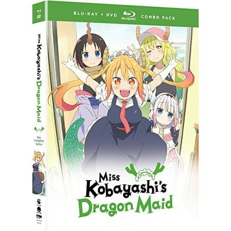 Miss Kobayashi's Dragon Maid: The Complete Series (Blu-ray + DVD) (Dragon Series)