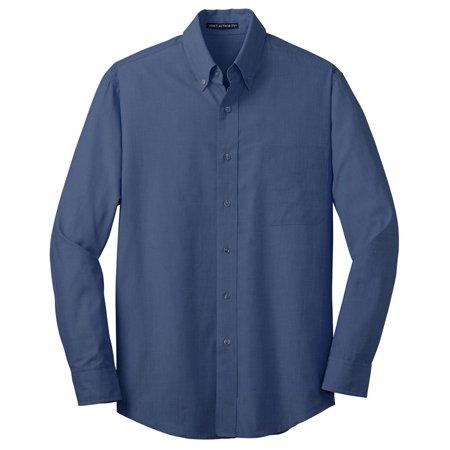 Port Authority Men's Big And Tall Poplin Shirt