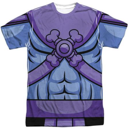 Masters Of The Universe Men's  Skeletor Costume Sublimation T-shirt White
