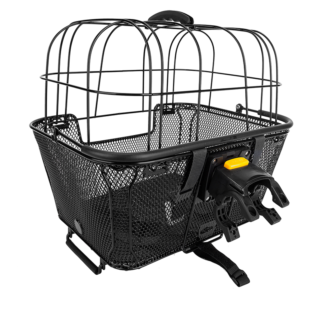 Sunlite Rack Top Or Handlebar Pet Fiendly Wire Dome Mesh Basket Multi Zone Light Wiring Diagram Quick Release