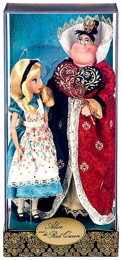 Disney Fairytale Designer Collection Alice and the Red Queen Doll Set by