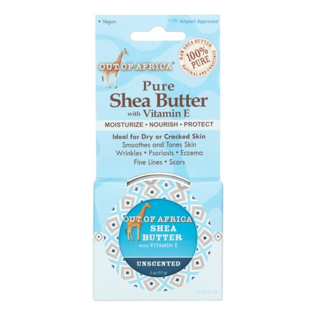 Out Of Africa Out Of Africa Unscented Shea Butter Tin, 2 Oz