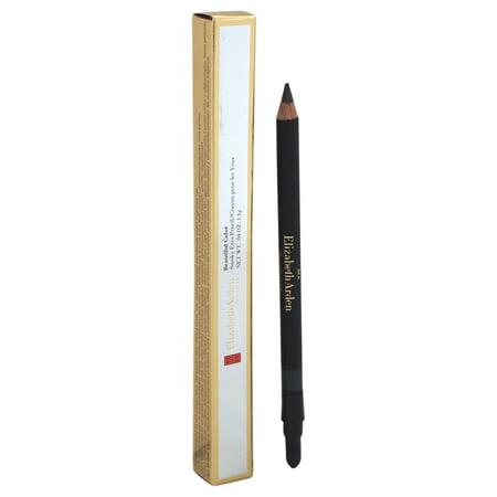 Beautiful Color Smoky Eyes Pencil - # 02 Gunmetal by Elizabeth Arden for Women - 0.04 oz Eye