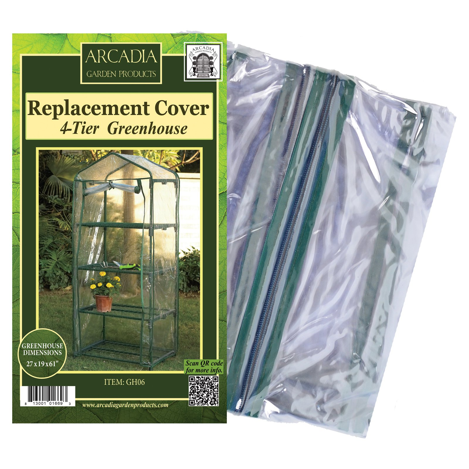 Arcadia Garden Mini Greenhouse Replacement Cover