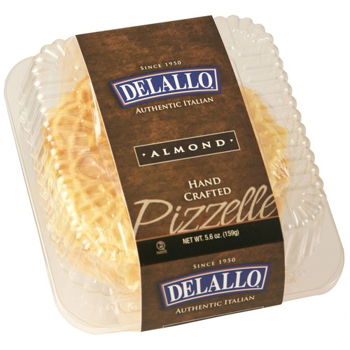 De Lallo Almond Pizzelle, 5.6 oz